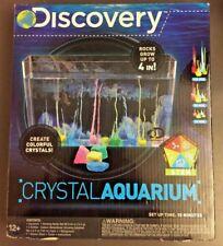 Discovery Kids Crystal Growing Aquarium Kit Magic Rocks Science Toys Sealed NIB