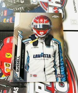 Topps Chrome F1 George Russell Williams Racing Card Formula 1 One #192