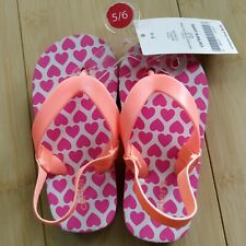 Carter's baby girl sandals size 5-6