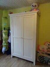 Chambre à coucher enfant évolutive complète CHILDWOOD Country blanc crème.