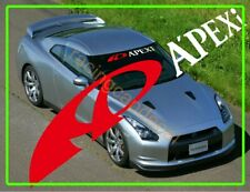 "36"" Apexi apex Sun Strip Visor Windshield Decal Sticker for mr2 gtr 350z 370z 86"