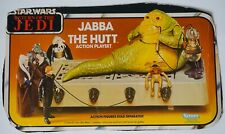 Vintage STAR WARS JABBA THE HUTT Playset & X-WING FIGHTER Boxfronts Kenner