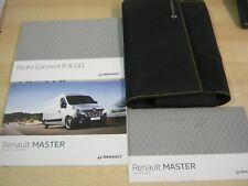 RENAULT MASTER  OWNERS MANUAL HANDBOOK WALLET  2012-2016  SERVICE BOOK M8