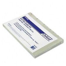 Esselte A-z Pressboard File Guide - Blank - 25 / Set - Gray Tab (PN1025)