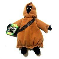 Star Wars Buddies 8in Jawa Hasbro Kenner Beanie 1997 66928 NWT Vintage Plush
