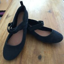 Next forever comfort suede shoes size 6 hardly worn
