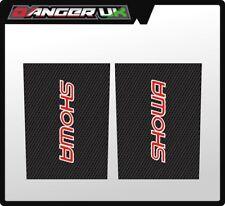 MOTOCROSS UPPER FORK GRAPHICS DECALS SHOWA CARBON FIBRE KTM KX YZ RM TM CR 50 65