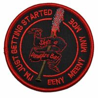 Negan Lucille Bat The Walking Dead - 4 inch Round Patch