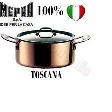 MEPRA SERIE TOSCANA CASSERUOLA RAME 18/10 DM.20 C/C 191132 CASAFASHION