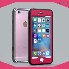Fundas y carcasas Apple de plástico de color principal rojo para teléfonos móviles y PDAs