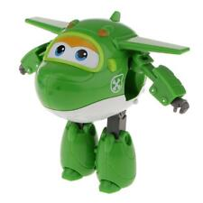 Super Wings Large Miro Transforming Plane Helicopter Model Toy - Mini Green