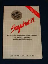 Saywhat?! Version 4.0 Reference Manual & Software