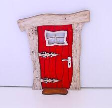 Fairy Door, Christmas Wooden Fairy Door, Fairy/Elf Door, Elf Door