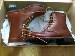 Eddie Bauer K-8 leather boots