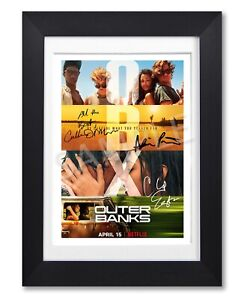 OUTER BANKS CAST SIGNED TV SHOW SEASON SERIES POSTER PHOTO AUTOGRAPH GIFT