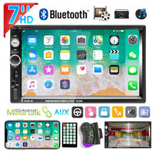 """7"""" Doppio 2DIN Autoradio stereo Touch Screen USB AUX IN FM Lettore MP5 Bluetooth"""
