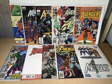 Avengers 11 Issue Mixed Lot 1