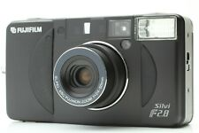 [ MINT ] Fuji Fujifilm Silvi f2.8 Black 35mm Film Camera From JAPAN #373