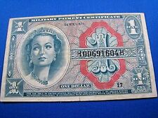 United States $1 Military Payment Certificate - 1964 (mr)