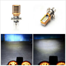 Waterproof 20W 1000LM Motorcycles ATV H4 Socket LED COB Headlight High/Low Beam