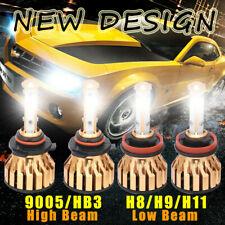 9005 + H11 Total 3600W 540000LM CREE LED Headlight Kit High Low Beam Light Bulbs