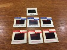 Collection Of 7 Railway Related Vintage Slides