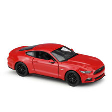 New In Box 1:24 Scale Red 2015 Ford Mustang GT Diecast Model Cars Toys By Welly