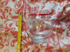 New listing Anchor Hocking Fluted Ivy Fish Bowl