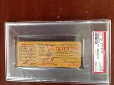 PSA 1944 All Star Ticket PITTSBURGH PIRATES FORBES FIELD