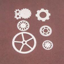 6pcs gears Metal Cutting Dies Stencil For DIY Scrapbooking Embossing TW