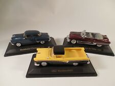 Lot / 1:43 Scale Road Signature Cars 1950 Studebaker 1949 Cadillac 1957 Ranchero