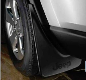 2011-2020 Jeep Grand Cherokee Splash Guards FRONT & REAR SET Genuine MOPAR OEM