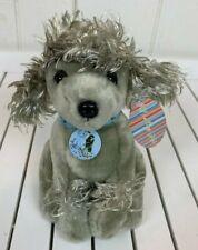 Plushland Gray Poodle Puppy Dog Stuffed Animal Beanie Plush Toy Its A Dogs Life