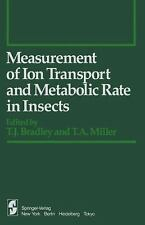 Measurement of Ion Transport and Metabolic Rate in Insects (Springer S-ExLibrary