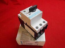 Siemens 3Rv1021-1Da10 Motor Protector Circuit Breaker; 2.2-3.2Amp 3-Pole