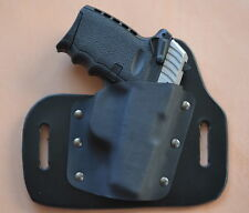 Leather Kydex Hybrid OWB holster for SCCY CPX-1, CPX-2