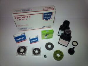 Eaton M62 Supercharger Snout Rebuild Repair Bearing Kit SKF