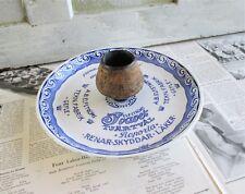 Vintage Gefle Cafe Advertising Ashtray and Match Holder - Scandinavian / Swedish