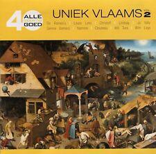 Alle 40 Goed : Uniek Vlaams vol. 2 (2 CD)