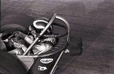 Dragster Driver - 'Hunter' on Helmet - Vintage 35mm Race Negative