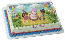 Dora the Explorer and Diego cake decoration Decoset cake topper set toys