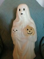 """VINTAGE 1991 HALLOWEEN EMPIRE 22"""" GHOST BLOW MOLD #6"""