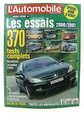L'Automobile Magazine - Hors-Série - Les Essais 2000/2001 - 2000 - Parfait état