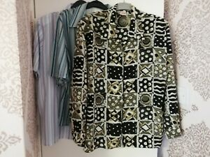 Ladies Size 20 Blouse Bundle 2 x Short Sleeve & 1 Long Sleeve #3