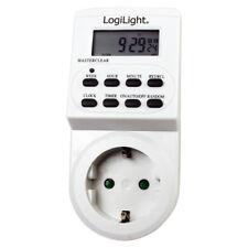 LogiLight ET0003 digitale Zeitschaltuhr 3500 W weiß