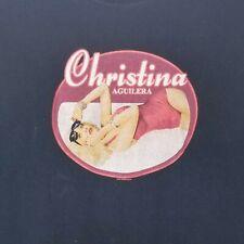 Christina Aguilera Back To Basics Tour 2007 T Shirt Medium
