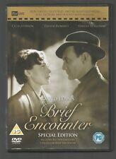 David Lean's BRIEF ENCOUNTER - SPECIAL EDITION - UK REGION 2 DVD - RE-MASTERED