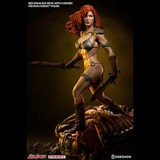 SIDESHOW Red Sonja She Devil With A Sword Premium Format Figure Statue SEALED