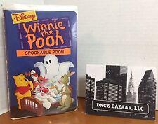 Winnie the Pooh - Spookable Pooh (VHS, 1996)