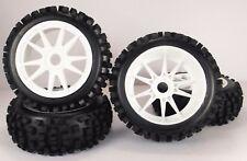 1/8 Big-Blocks WSK Pre-Mounted 1/8 Buggy Tires Glued